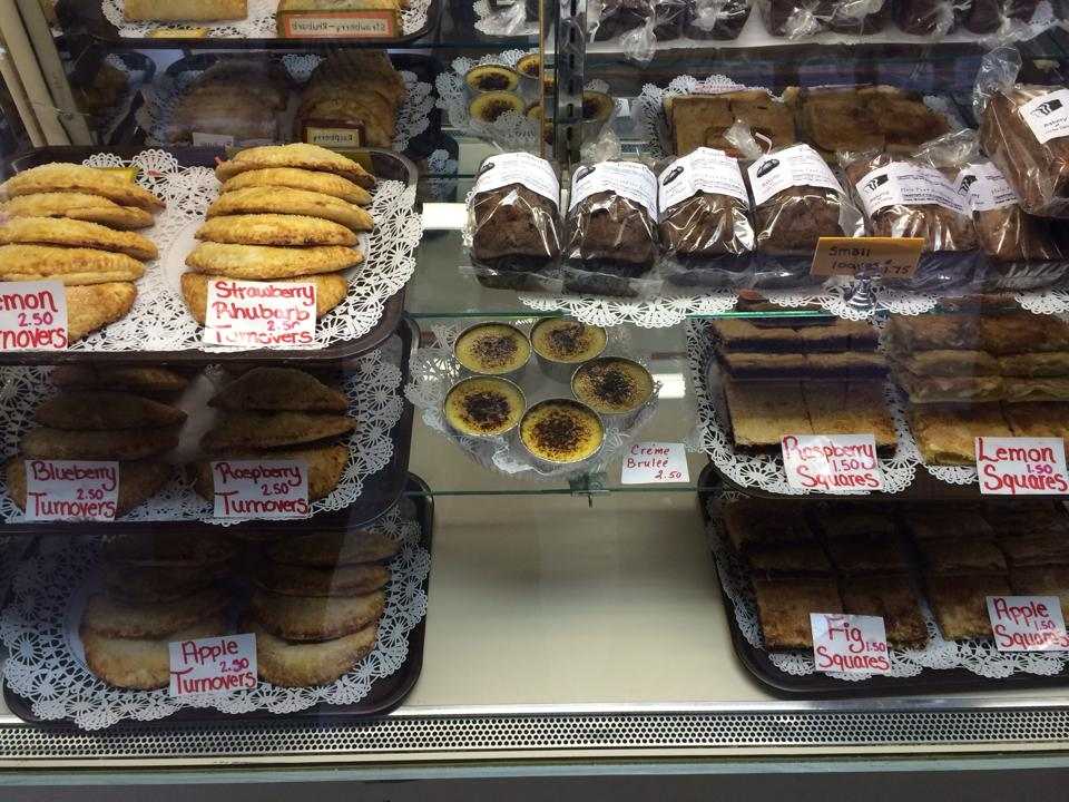 New and delicious additions to our Baked goods case at the Bakery of Notre Dame here on Shaker Hill. Come for a visit and a treat!